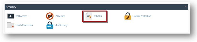 Installing SSL Certificate