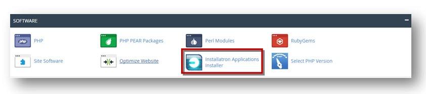 Installatron Applications Installer