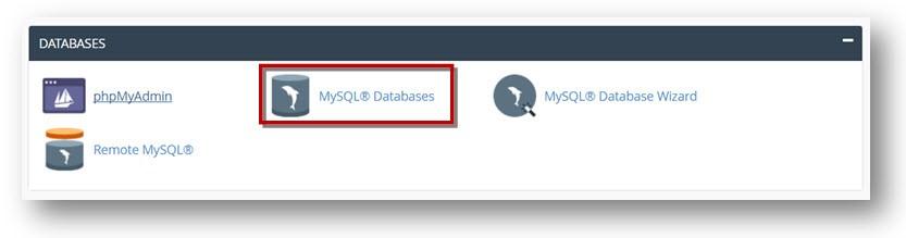 delete a MySQL database